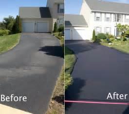 Sealing Concrete Driveway Picture
