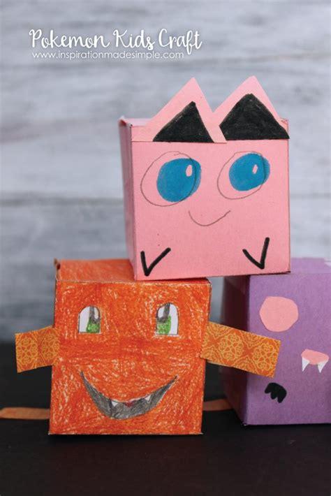 pokemon kids craft inspiration  simple