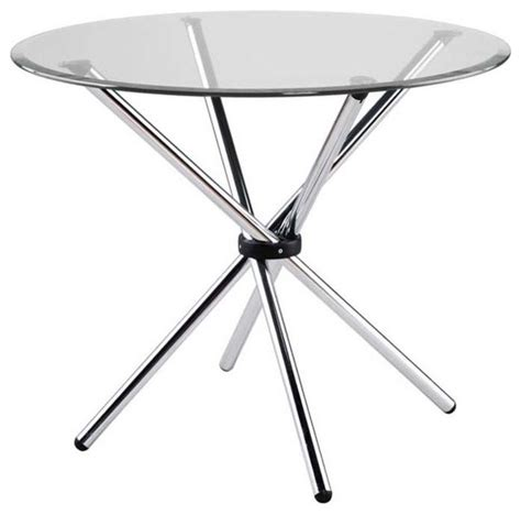 crackle glass table l shop round crackle glass table products on houzz 30 inch