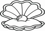 Clam Giant Drawing Shell Coloring Oyster Clipartmag sketch template