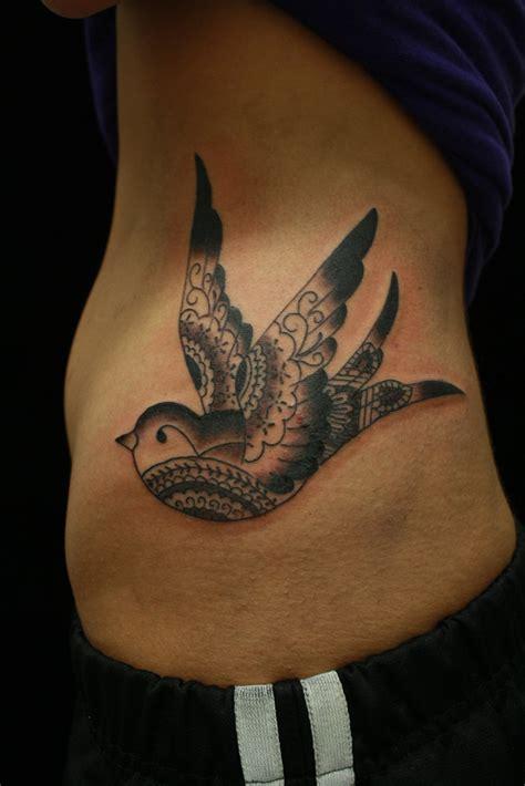 mandala bird black  grey mandala bird tattoo