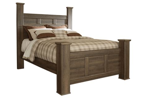 Juararo Poster Collection B251 Ashley King Bed Frame