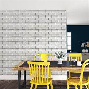 Papiers Peints Cuisine : faut il oser le papier peint en cuisine mr bricolage ~ Melissatoandfro.com Idées de Décoration