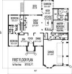 3 bedroom 3 bath house plans contemporary designs and layouts of 3 bedroom house floor plans 1 story