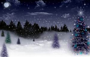 Country Christmas Wallpaper