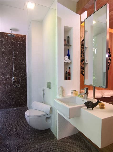 Small Modern Bathroom Decorating Ideas by Modern Small Bathroom Design Ideas Sg Livingpod