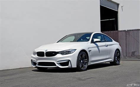 mineral white  visits eas bmw performance parts services