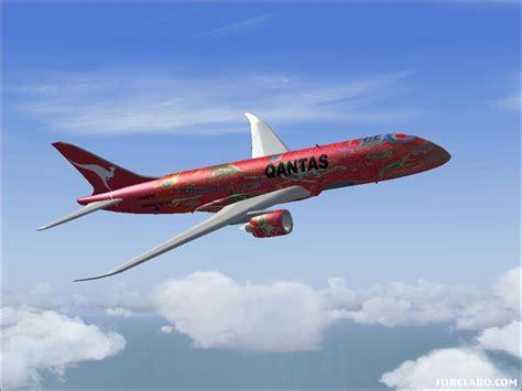 FS2004 Boeing 7E7-800 Qantas (8121) SurClaro Photos