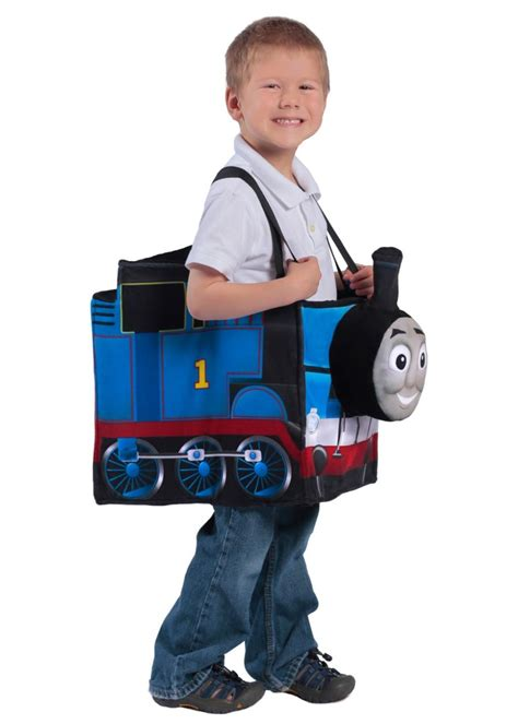 Thomas the Tank Engine Ride in Boys Train Costume - TV ...