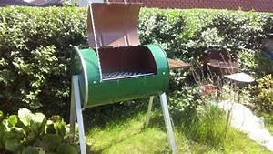 Fabriquer Un Barbecue Avec Un Bidon : le meilleur bbq maison du monde 10 euros sans soudure youtube ~ Dallasstarsshop.com Idées de Décoration