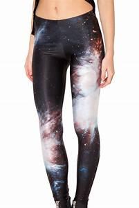Galaxy Black Leggings u2013 Black Milk Clothing