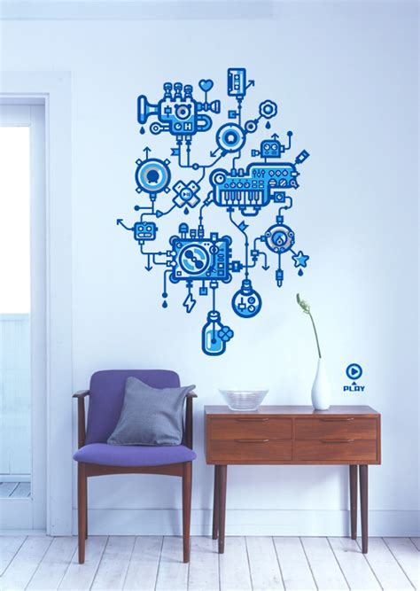 cool wall for cool wall stickers for decoration