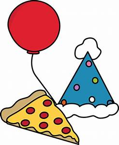 Pizza Party Clip Art - Pizza Party Image