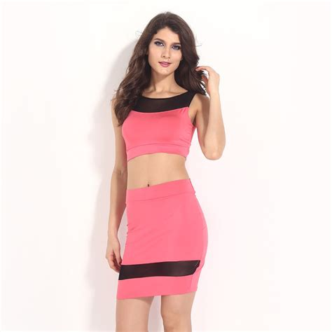 women  piece outfits  pink fashion celebrity sexy