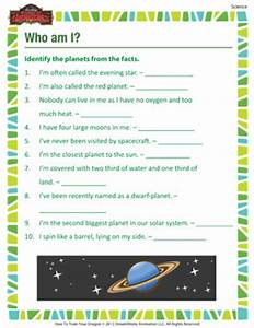 Planets Worksheets for 3rd Grade (page 2) - Pics about space