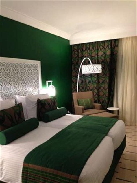 chambre verte radisson resort thalasso hotel hammamet tunisie
