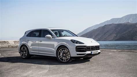 porsche cayenne turbo 2018 4k wallpapers hd wallpapers