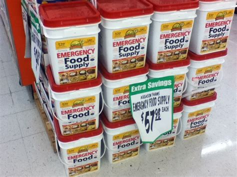 Augason Farms At The WinCo Grocery Stores - 72 hour packs ...
