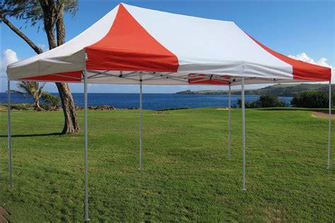 red  white pop  tent canopy gazebo