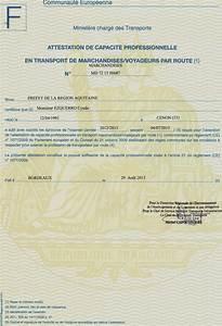 Capacité De Transport De Marchandises De Moins De 3 5t : attestation de capacit transport ~ Medecine-chirurgie-esthetiques.com Avis de Voitures