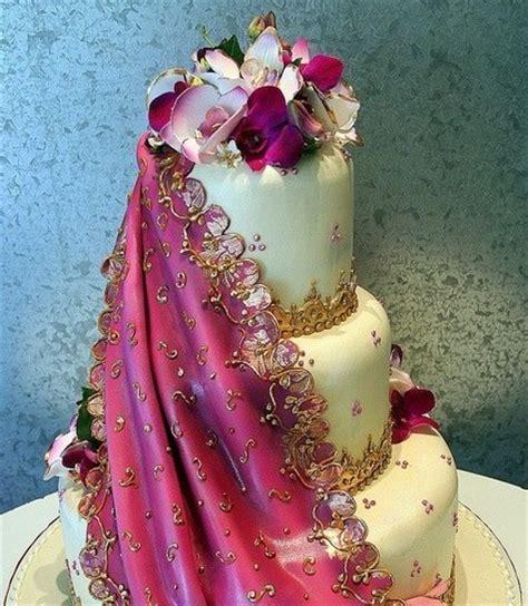 tarta boda  flores lilas  violetas handspire