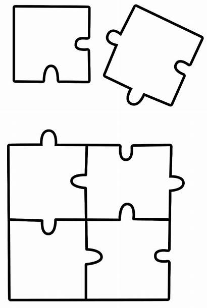 Puzzle Coloring Jigsaw Pages Sheet Puzzles Piece