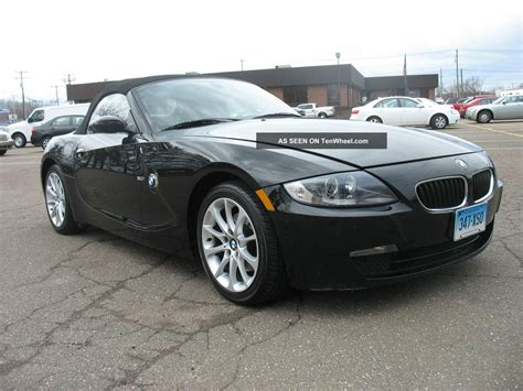 2006 Bmw Z4 Coupe Convertible