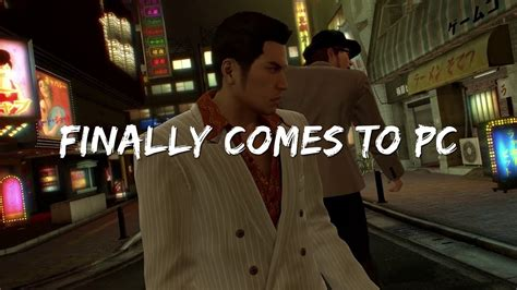 yakuza      pc youtube