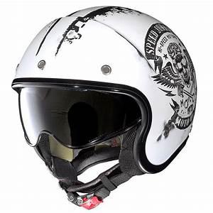 Tete De Buffle Pas Cher : casque moto custom univers moto ~ Teatrodelosmanantiales.com Idées de Décoration