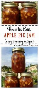 Canning Apple Pie Jam