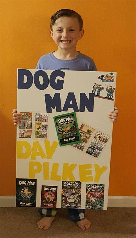 book challenge parade poster dog man  dav pilkey