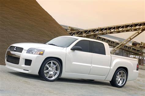 2005 Mitsubishi Street Raider Concept Images Photo