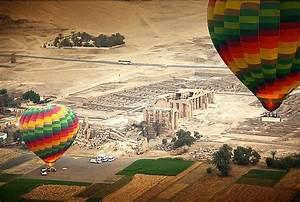 Hot Air Balloons Ride In Luxor Egypt, Luxor Hot Air ...