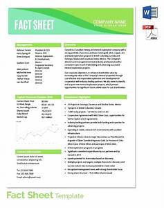 information sheet templates employee personal information With personal fact sheet template