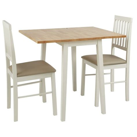 Buy Home Kendall Extendable Wood Table & 2 Chairs Two