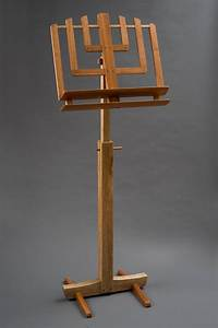Fine Wood Music Stand by hershelswoodworks on Etsy