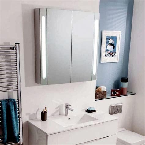 Wall Hung Cabinets - bauhaus mirrored aluminium wall hung cabinet uk bathrooms