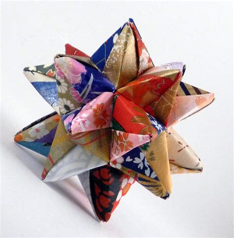 origami star quilted star ornament christmas star origami
