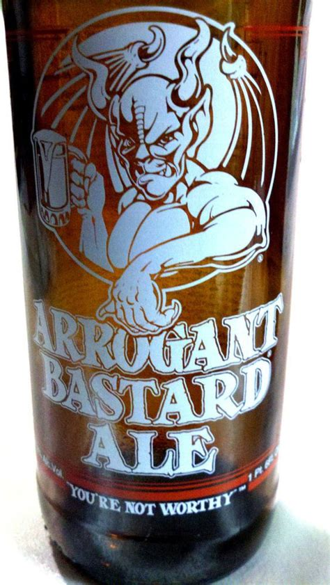 awesome collectibles arrogant bastard stone brewing