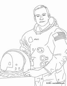Neil armstrong coloring pages - Hellokids.com