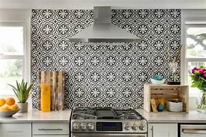 Carreaux De Ciment Credence : le motif carreaux de ciment dans l 39 int rieur ~ Dailycaller-alerts.com Idées de Décoration