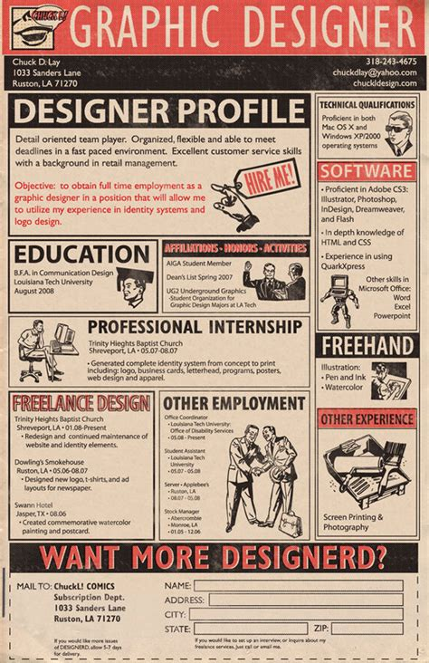 Creative Resume Designers by 30 Artistic And Creative R 233 Sum 233 S Webdesigner Depot