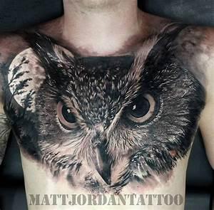 Owl Tattoos: Best of the Best • Lazer Horse