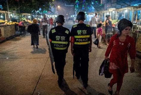 Inside China's internment camps: tear gas, Tasers and ...