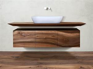 Meuble Salle De Bain Suspendu : cp lab design meuble pour salle de bain suspendu by cp parquet ~ Edinachiropracticcenter.com Idées de Décoration