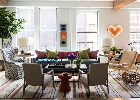 New York Loft With Great Color  Traditional Home