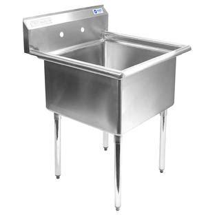 Kitchen Utility Description by Gridmann 30 Quot W Commercial Kitchen Utility Sink Sears