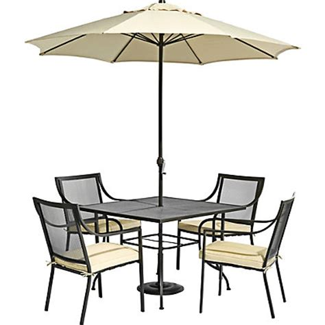 rimini 4 seater metal garden furniture set home delivery