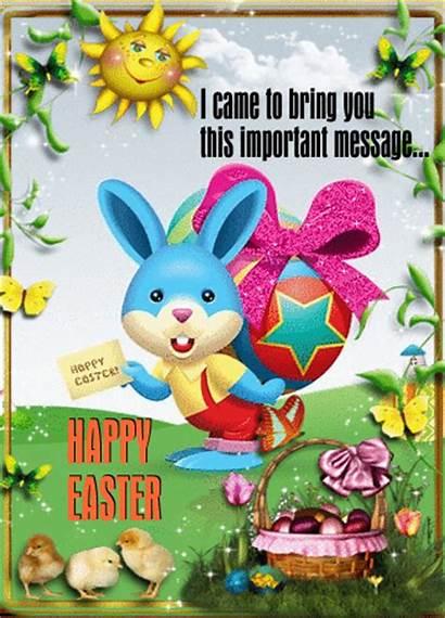 Easter Ecard Happy Greetings Formal Cards Card