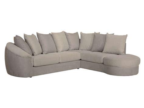 fauteuil d angle conforama canap 233 d angle fixe droit 5 places en tissu boreal coloris gris taupe vente de canap 233 d
